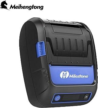 Label Receipt MHT-P58F - Impresora térmica Portabel Mini Mobile ...