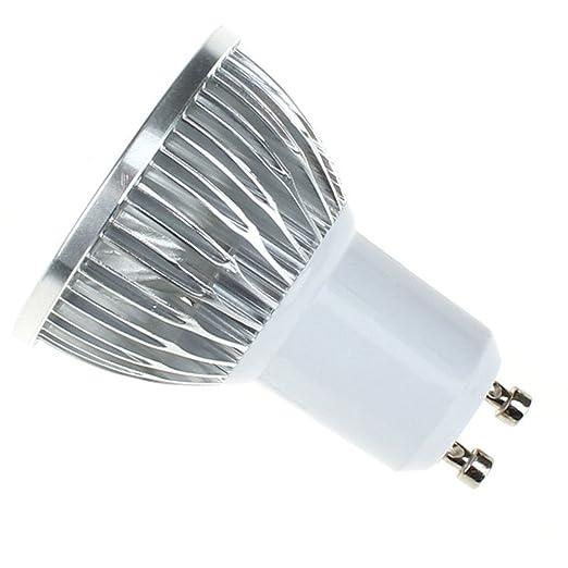 kingnew GU10 Bombillas LED SMD COB Lámpara de puntos de punto Introdujo Luz, Blanco Frío