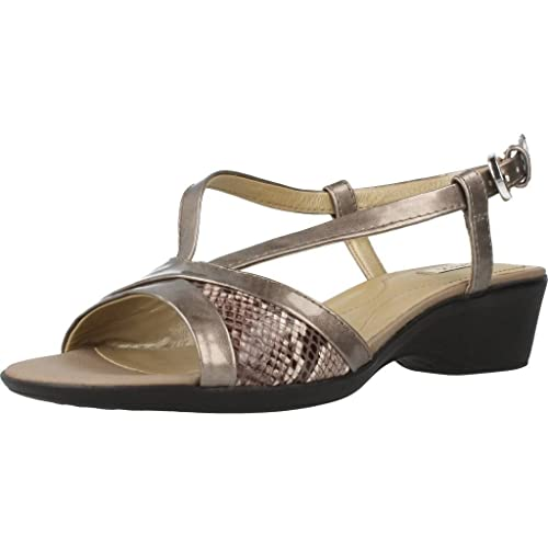 free delivery best cheap official shop Geox Sandal for Women D62S3A OHYRY C1F1X Coral Gold