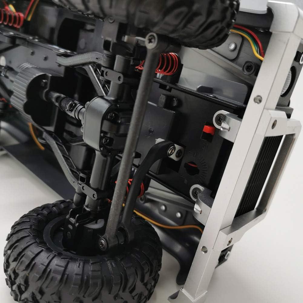 AKDSteel Portal de Metal para Parachoques Delantero para MN-90 MN-91 MN-99 MN-99S 1//12 2,4G 4WD RC Car Upgrade para Juguetes