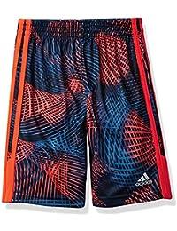 Little Boys' Athletic Short, Red/Orange, Red/Orange