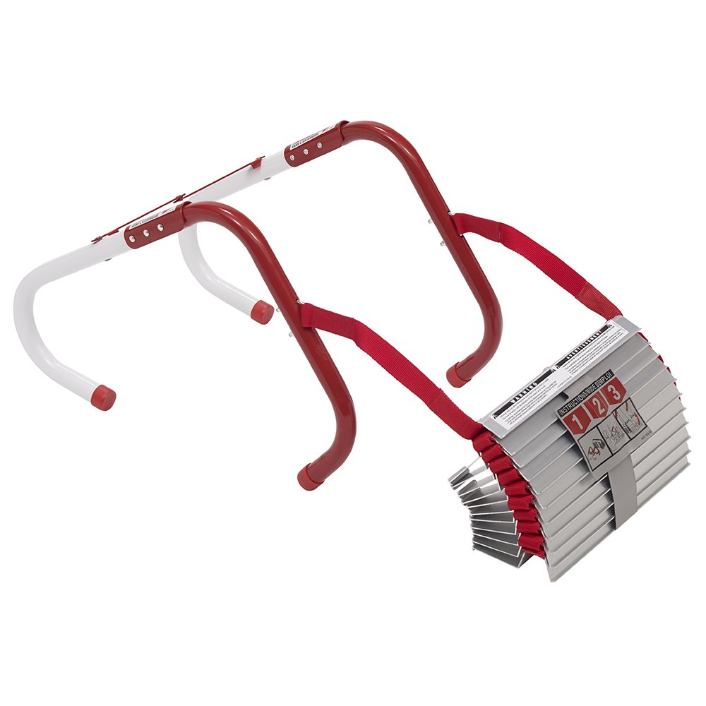 Kidde 468093  KL-2S Two-Story Fire Escape Ladder with Anti-Slip Rungs, 13-Foot by Kidde