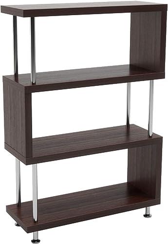 Bestier 4 Shelf Ladder Bookshelf S Shaped Review