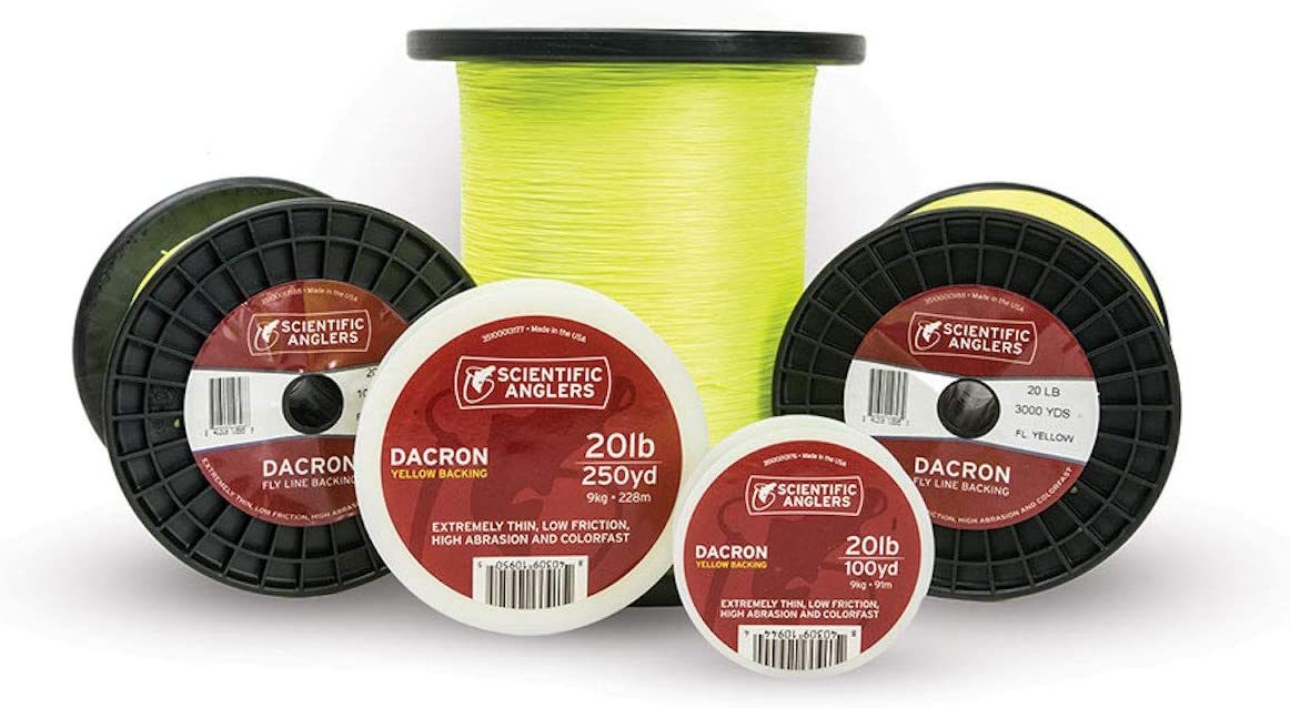 Scientific Anglers Fly Line 1000 yd Dacron Backing