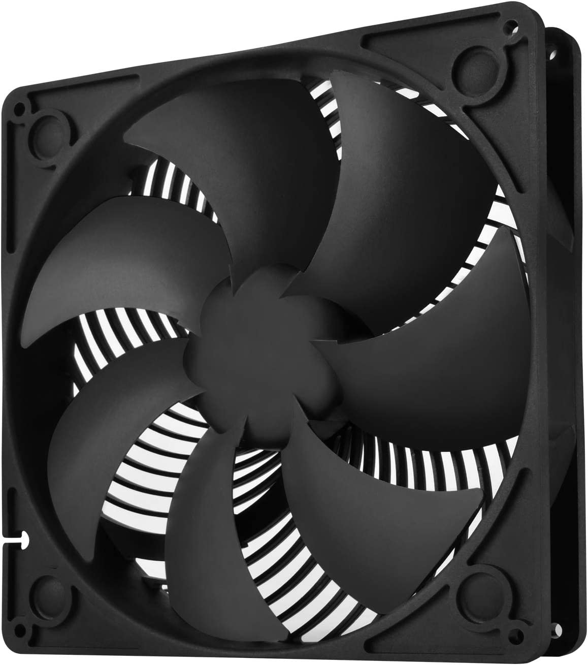 SilverStone Technology 180mm PWM Computer Case Fan 4001500RPM Dual Ball Bearing with 32mm Thickness SST-AP183