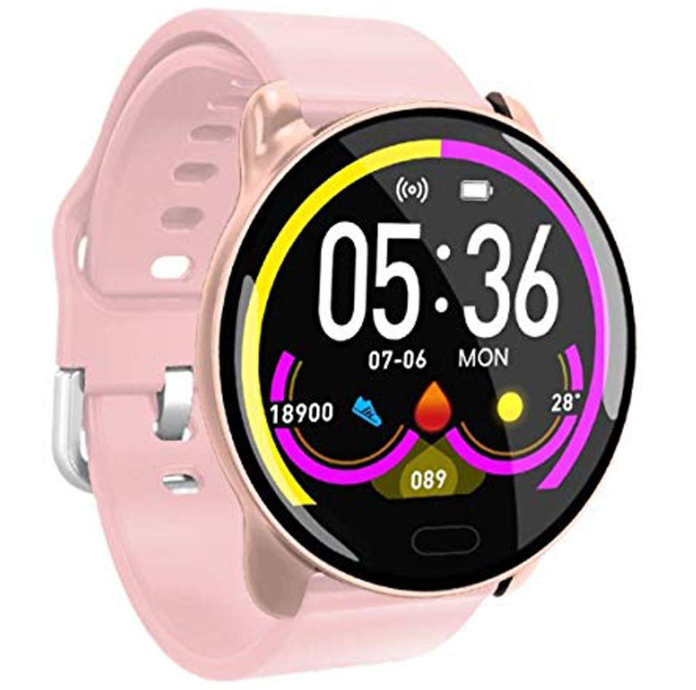 YANGYA Ip67 Waterproof Activity Tracking Fitness Watch with Step Calorie Sleep Monitor, Compatible with Android iOS Phones-B by YANGYA