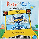 Constructive Playthings HR-716 ''Pete The CAT The Wheels on The Bus'', Grade: Kindergarten to 2,  9.3'' Height, 0.4'' Wide, 9.25'' Length