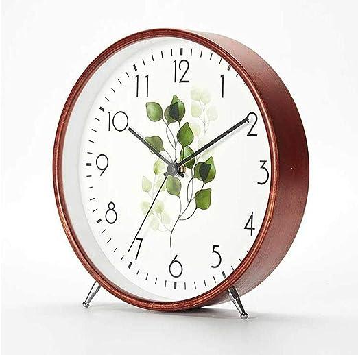 PQW Bright Despertadores mecánicos Reloj de Mesa Cerradura Simple ...