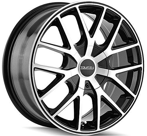 Touren TR60 16 Machined Black Wheel / Rim 5×110 & 5×115 with a 42mm Offset and a 72.62 Hub Bore. Partnumber 3260-6711B