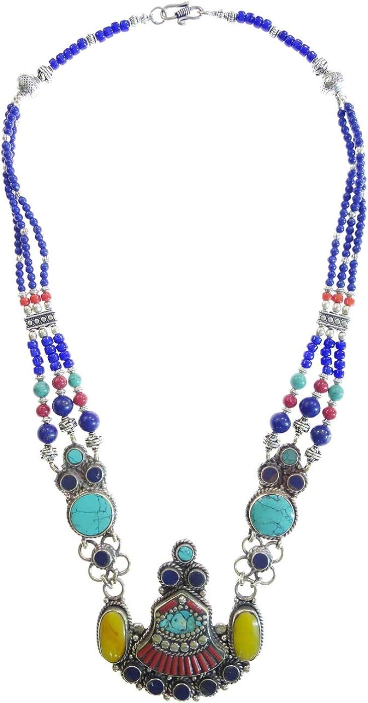 Women Tibetan Turquoise Coral Lapis Antique Jewelry 925 Sterling Silver Plated Earrings Women Earrings Gift For Women Jewelry Love