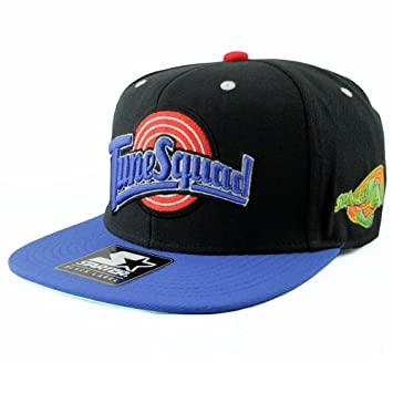 Starter Space Jam Tune Squad Flipout 2-Tone Basketball Snapback Cap   Amazon.co.uk  Sports   Outdoors bb5a8e5f39b2