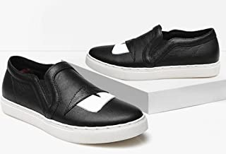 YTTY La Tête De Couche De Cuir Une Pédale Paresseux De Chaussures