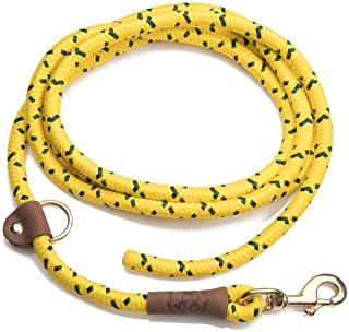 product image for Mendota Pet EZ Trainer Dog Lead/Leash, Hi-Viz Yellow, 1/2-Inch x 8-Feet