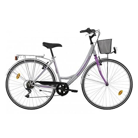 Descheemaeker Harmony 2015 - Bicicleta de paseo tipo holandesa para mujer, 6 velocidades, ruedas