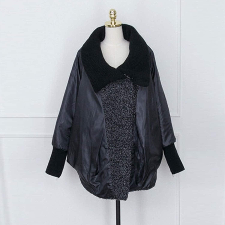 White Island Knitted Turtleneck Large Size Autumn-Winter Woolen Coat Women Woolen Thick Cashmere Manteau Hiver,Gray,5XL