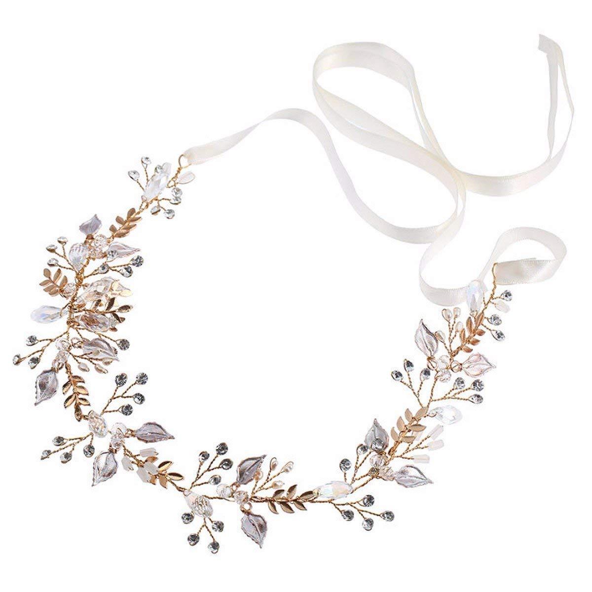 Crystal Crown, Bridal Headwear Handmade Hair Band Beauty Hair Ornament Hairpin Hairpin.