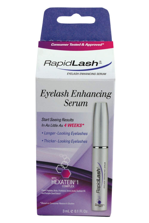 a335413e13d Amazon.com: Rapidlash Eyelash and Eyebrow Enhancing Serum (3ml),0.1-Fluid  Ounces Bottle: Beauty