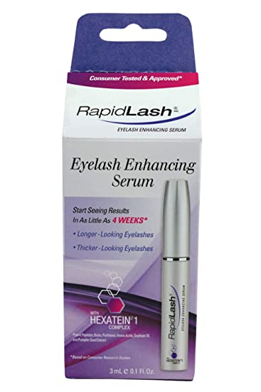 39bb111e8ee Amazon.com: Rapidlash Eyelash and Eyebrow Enhancing Serum (3ml),0.1-Fluid  Ounces Bottle: Beauty