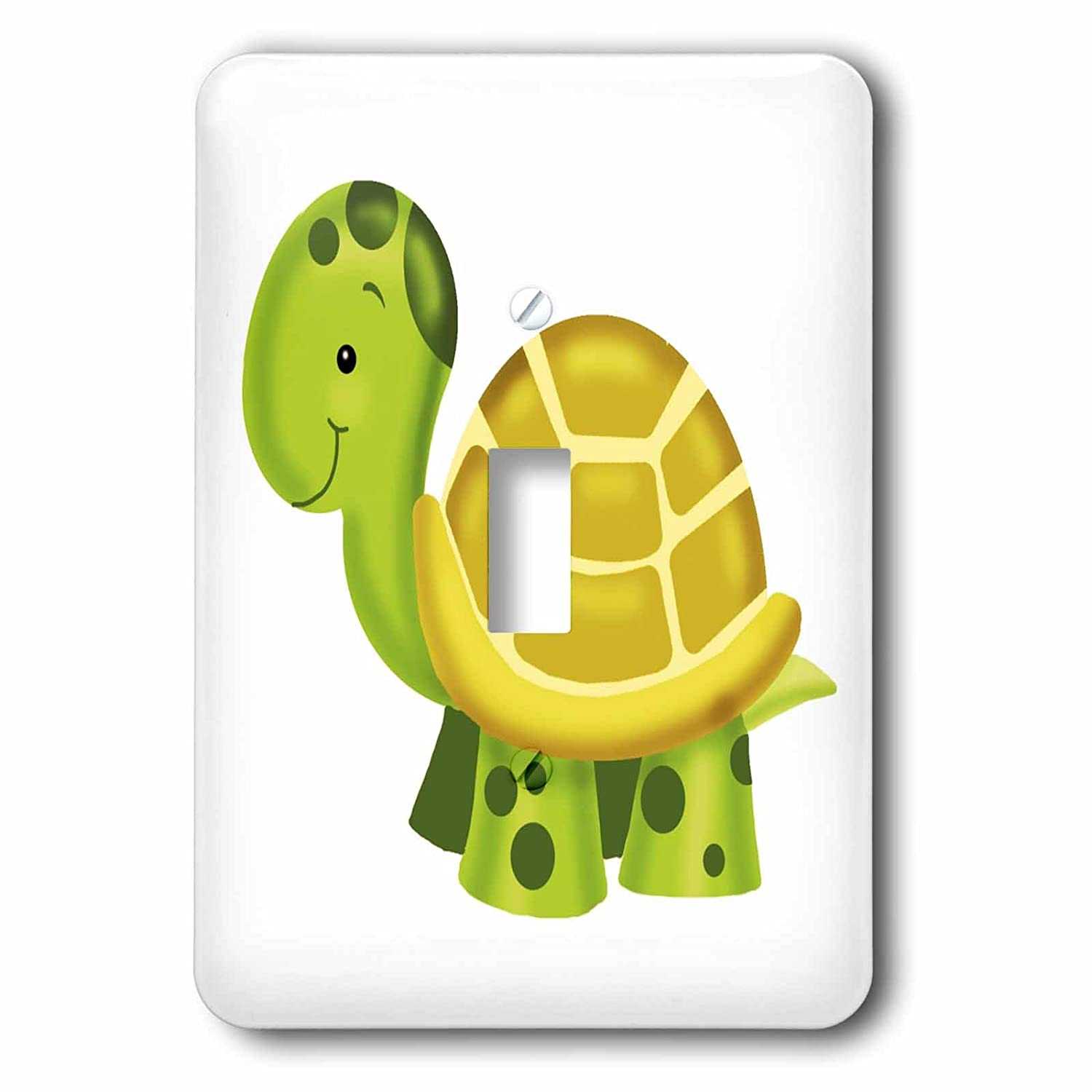 3drose LSP Turtle_ 237148 Illustration_ 1 Adorable Baby Turtle Baby Nursery Illustration SINGLE切り替えスイッチ B01M02TH2E, どんまい:63a13595 --- fifthelement.store