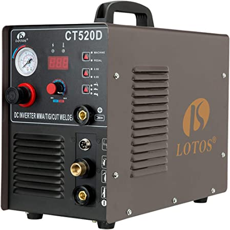 Lotos CT520 Plasma Cutter Tig Stick Welder 3 in 1 Combo Welding Machine