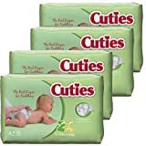 Amazon Price History for:Cuties Baby Diapers, Size 2, 42-Count, Pack of 4
