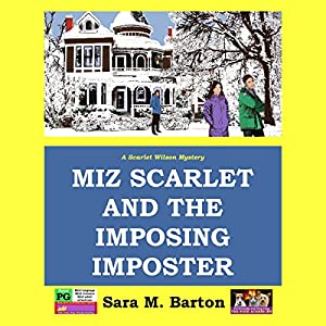 Miz Scarlet and the Imposing Imposter Audiobook