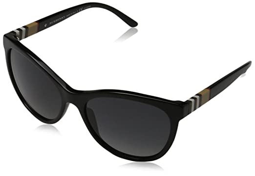 Burberry Mujer 0BE4199 3001T3 58 Gafas de sol, Negro (Black ...