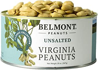 product image for Belmont Peanuts Unsalted Virginia Peanuts, 20 oz, Classic Collection