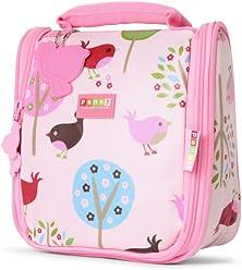 e492092db7 Penny Scallan Girl s Hanging Toiletry Bag w Four Travel Bottles - Chirpy  Bird