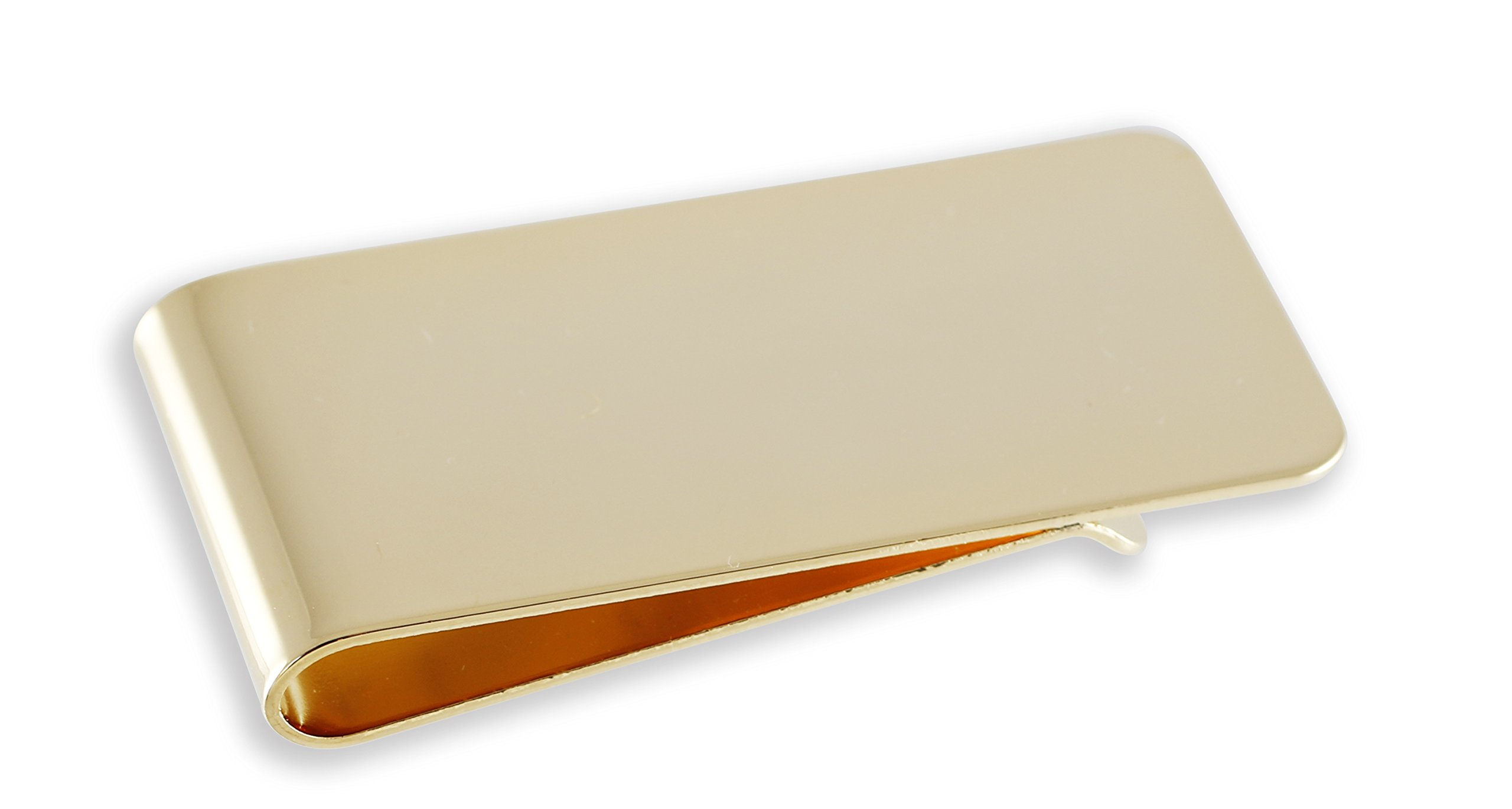 Made In USA, Money Clip (Gold)