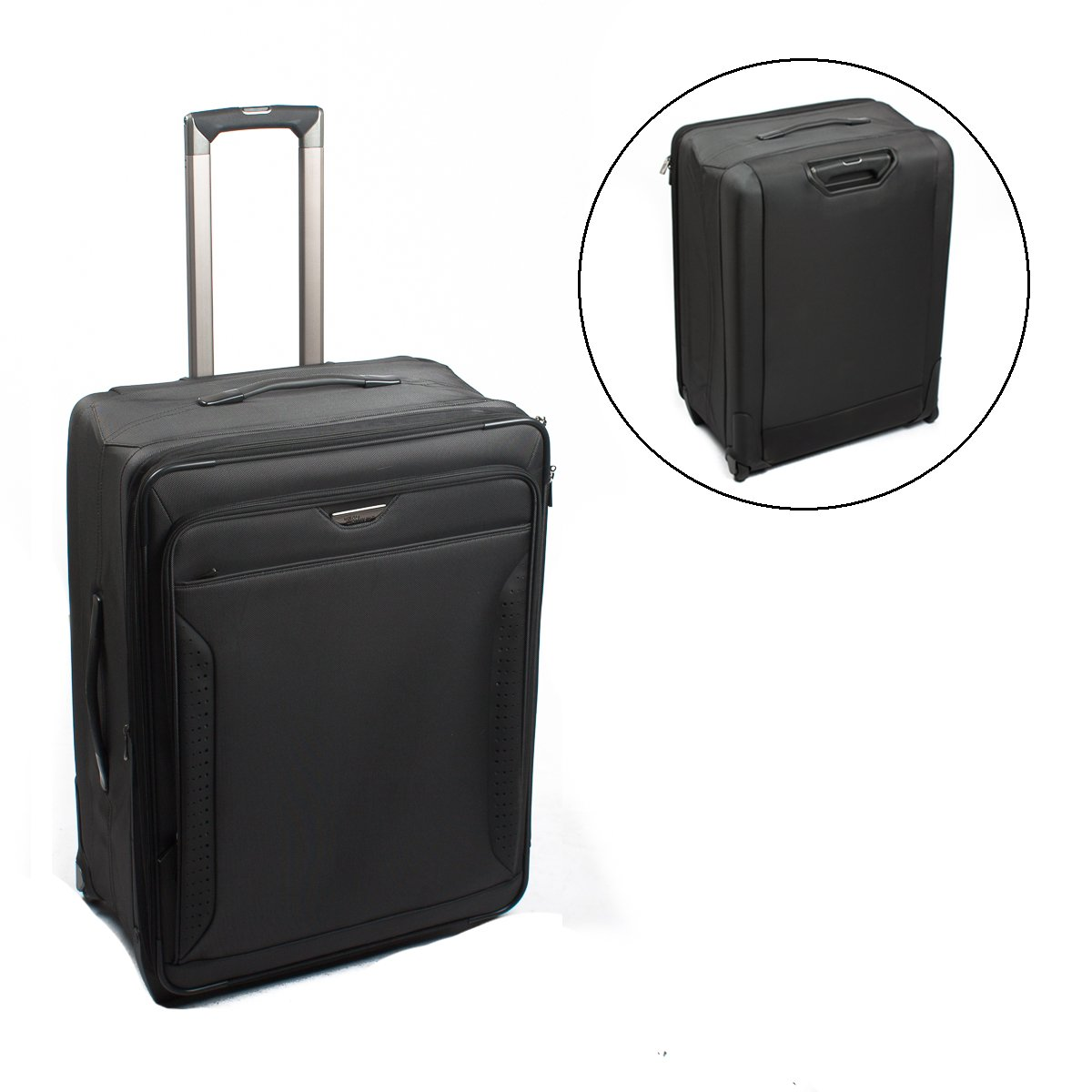 Road Warrior M-Series 27'' Collapsible Upright Suitcase Rolling Bag Expandable