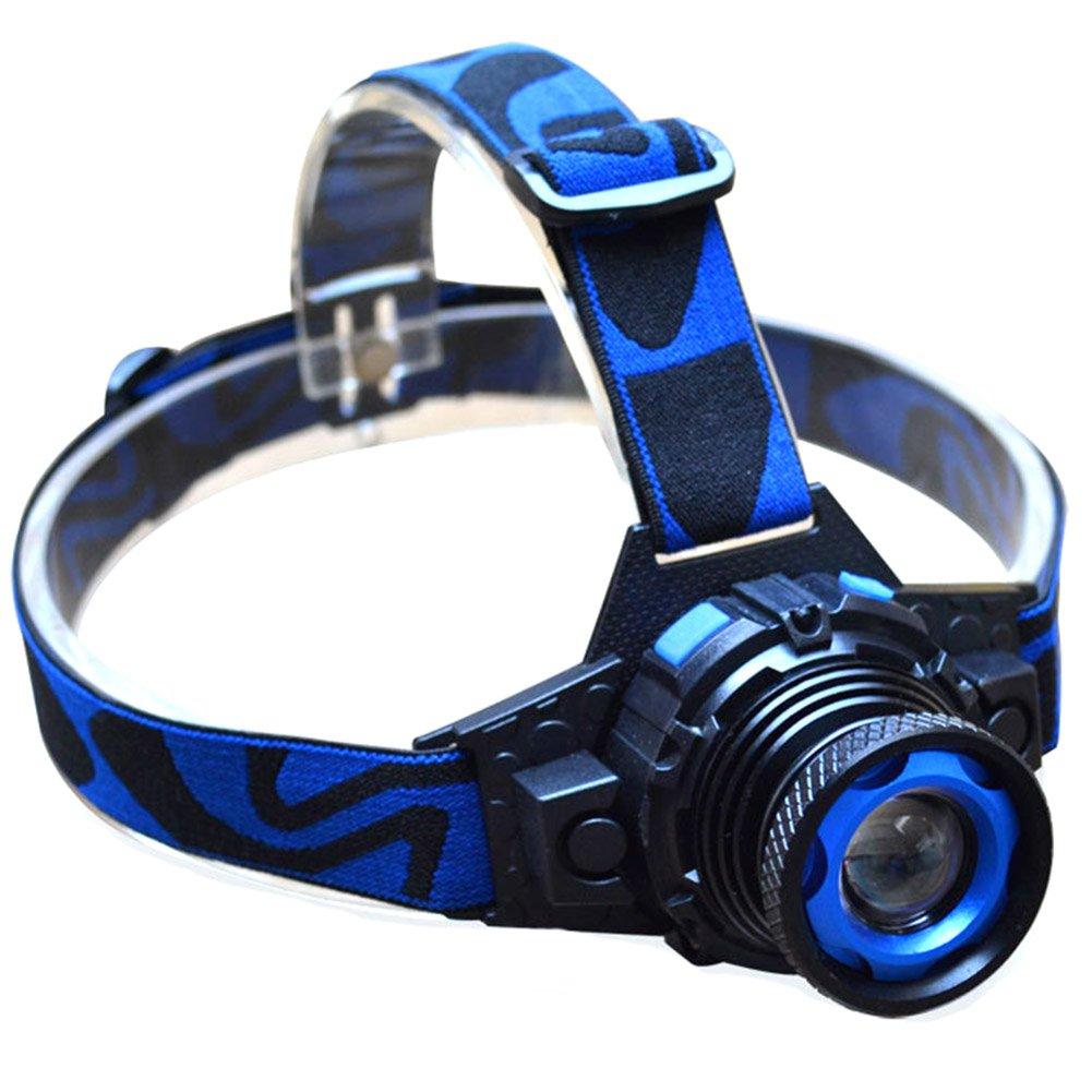 Skisneostype linterna frontal LED recargable linterna impermeable antorcha port/átil con 3/modos para escalada Camping pesca de noche bicicleta Cave monta/ña explotaci/ón de mina