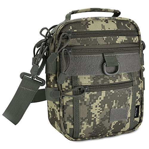 ProCase Pistol Bag, Military Gear Tactical Handgun Shoulder Strap Bag Gun Ammo...