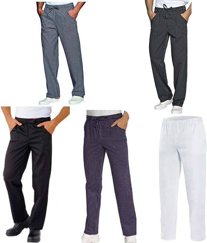 Pepita Basic Pantaloni da cucina da uomo