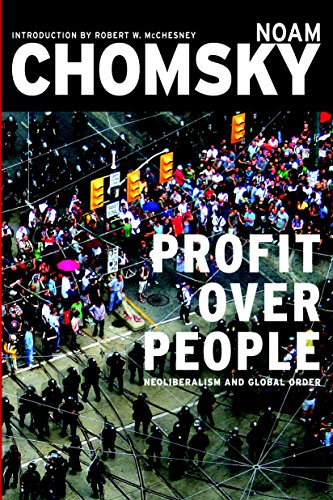 Profit Over People: Neoliberalism & Global Order [Noam Chomsky] (Tapa Blanda)