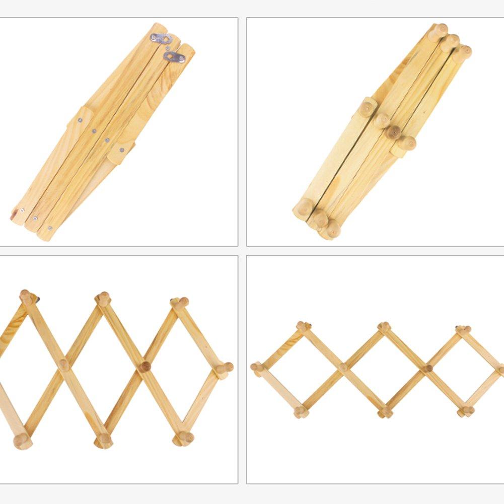 Dytiying - Perchero de pared de madera flexible para colgar ...