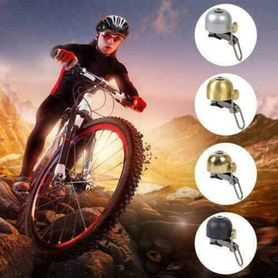 Jenniver 2019 Bicycle Mountain Bike Copper Bell
