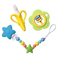 Deals on Domie Baby Teething Toy Set
