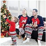 BOBORA Family Matching Pajamas, Christmas Deer Pjs Set Sleepwear Nightwear