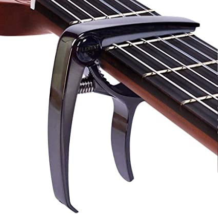 For Elec//Acoustic FREE DELIVERY Guitar CAPO Aluminium Metal Release Spring