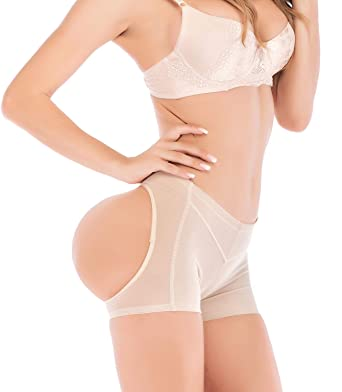 6d052780c66 SAYFUT Beige Butt Lifter Panty Underwear Tight Shaper Tummy Control Boy  Shorts