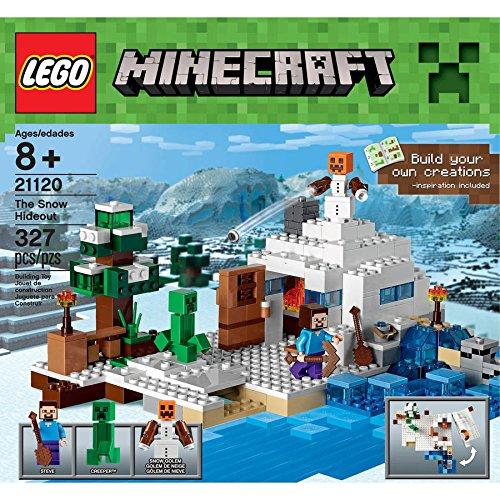 Wars LEGO Minecraft Premium Educational Pieces Build Hideout Guaranteed