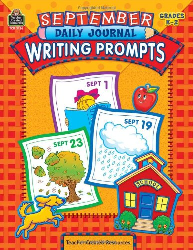 September Daily Journal Writing Prompts Grades K-2