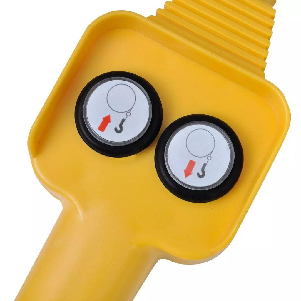 Vislone Cabrestant El/éctrico 907 KG 12V con Control Remoto de Cable con Mando a Distancia de Alambre