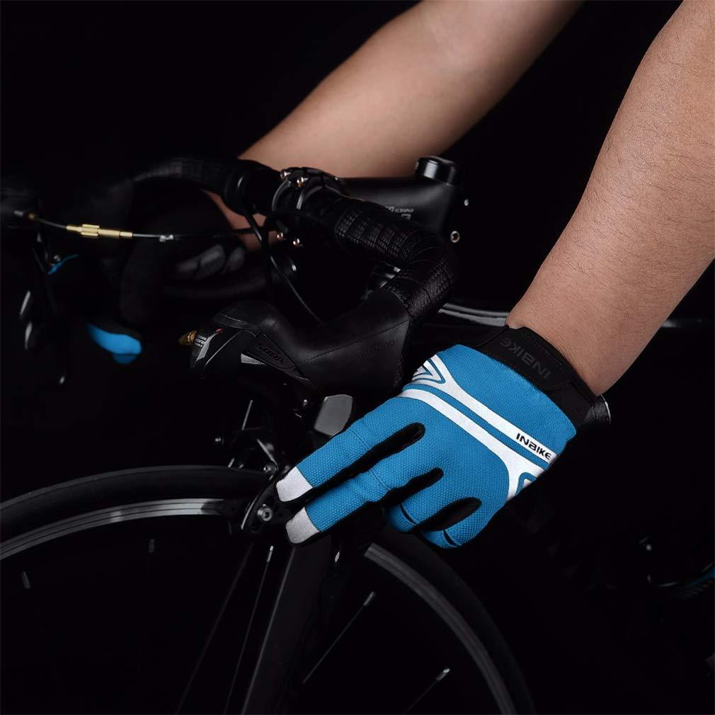 LSQR LSQR LSQR Guanti da Ciclismo Flessibili con Dita Piene di Alta qualità, Guanti Anti-Scivolo con Dita Piene E Anti-Scivolo Guanti da Mountain Bike con Guanti Anti-Scivolo per Uomini E Donne,blu,XL | Aspetto estetico  | Stile elegante  | Meno Costosi Di 8678e4