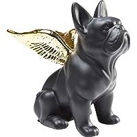 Kare Figura Decorativa Sitting Angel Dog, Oro, 22