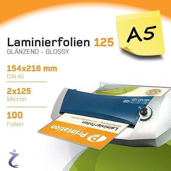 Office Depot Laminiertaschen DIN A4 Klar 2 x 125 /µm 100 St/ück 250
