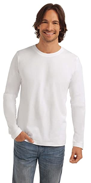 another chance ec457 0d103 Maglia Maniche Lunghe Uomo Cotone Stedman Classic T Shirt Maglietta Manica  Lunga