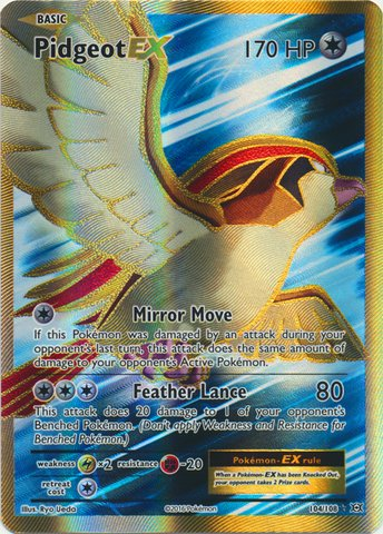 (Pokemon - Pidgeot-EX (104/108) - XY Evolutions - Holo)
