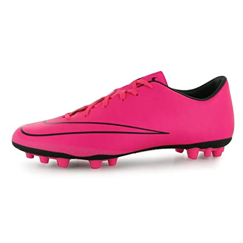 brand new 5becc 0b583 ... hot nike mercurial victory astro turf chaussures de football pour homme  rose noir crampons de football ...